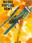 Model Airplane News Cover for March, 1953 by Jo Kotula Royal Aircraft Factory SE-5-a