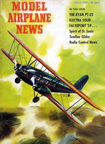 Model Airplane News Cover for March, 1959 by Jo Kotula Curtiss T-32 Condor