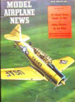 Model Airplane News Cover for March, 1960 by Jo Kotula North American AT6 Texan
