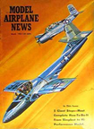 Model Airplane News Cover for March, 1961 by Jo Kotula Cessna T-37 Tweet
