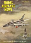 Model Airplane News Cover for March, 1962 by Jo Kotula North American F-100 Super Sabre