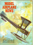 Model Airplane News Cover for March, 1965 by Jo Kotula Boeing Model 1 B W