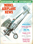 Model Airplane News Cover for March, 1966 by Jo Kotula Boeing XF3B-1