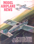 Model Airplane News Cover for March, 1967 by Jo Kotula Junkers CL.I (J-10)