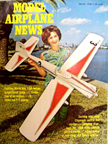 Model Airplane News Cover for March, 1968