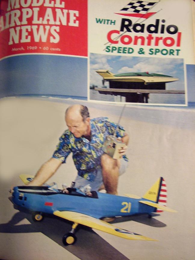 1969 Model Airplane News Magazine: Dan deStrong Sig PT-19/Skylark 95/T'Winger