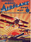 Model Airplane News Cover for May, 1934 by Jo Kotula Kawasaki KDA-5 Type 92