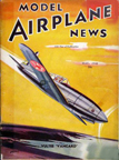 Model Airplane News Cover for May, 1940 by Jo Kotula Vultee Vanguard