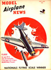 Model Airplane News Cover for May, 1934 by Jo Kotula Douglas TBD Devastator