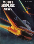 Model Airplane News Cover for May, 1952 by Jo Kotula Northrop F-89 Scorpion