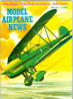 Model Airplane News Cover for May, 1957 by Jo Kotula Great Lakes Trainer