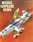 Model Airplane News Cover for May, 1959 by Jo Kotula Sablar Special Knight Twister