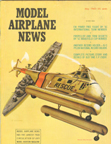 Model Airplane News Cover for May, 1962 by Jo Kotula Sikorsky H-19 Chickasaw Helicopter (Navy version H04S)