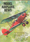 Model Airplane News Cover for May, 1963 by Jo Kotula Brunner-Winkle Bird