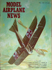 Model Airplane News Cover for May, 1965 by Jo Kotula LLOYD C.II
