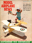 Model Airplane News Cover for May, 1966