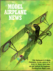 Model Airplane News Cover for May, 1968 by Jo Kotula Long-Bushby Mustang