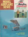 Model Airplane News Cover for May, 1969 by Tom Wilbur Curtiss NC-4 Atlantic Flying Boat