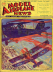 Model Airplane News Cover for November, 1931 by Jo Kotula pppz