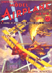 Model Airplane News Cover for Nov 1932 by Jo Kotula Friedrichshafen G.II