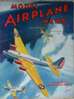 Model Airplane News Cover for November, 1940 by Jo Kotula Douglas B-19 Superbomber