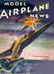 Model Airplane News Cover for November, 1941 by Jo Kotula Bristol Beaufighter