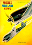 Model Airplane News Cover for November, 1942 by Jo Kotula Focke-Wulf 190