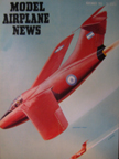 Model Airplane News Cover for November, 1951 by Jo Kotula F.M.A. I.A.27 Pulqui (Arrow)