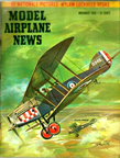 Model Airplane News Cover for November, 1955 by Jo Kotula Bristol F.2B Fighter