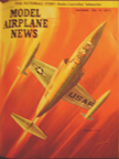 Model Airplane News Cover for November, 1956 by Jo Kotula Lockheed F-104 Starfighter