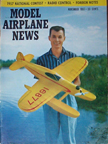 Model Airplane News Cover for November, 1957