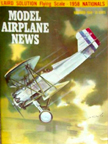 Model Airplane News Cover for November, 1958 by Jo Kotula Curtiss F7C-1 Seahawk