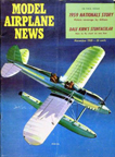 Model Airplane News Cover for November, 1959 by Jo Kotula Ryan STM