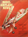 Model Airplane News Cover for November, 1961 by Jo Kotula Bucker Bu 133C Jungmeister