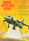 Model Airplane News Cover for November,1962 by Jo Kotula Hawker-Siddley Gr.3 Harrier