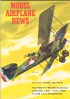 Model Airplane News Cover for November, 1963 by Jo Kotula Breguet 14A2