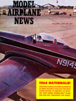 Model Airplane News Cover for November, 1964