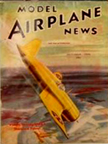 Model Airplane News Cover for October, 1940 by Jo Kotula Chance-Vought F4U Corsair