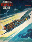Model Airplane News Cover for October, 1943 by Jo Kotula Hawker Typhoon Tiffy