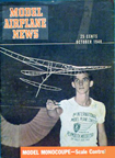Model Airplane News Cover for October, 1948