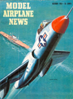 Model Airplane News Cover for October, 1952 by Jo Kotula Vought F7U Cutlass