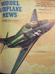Model Airplane News Cover for October, 1954 by Jo Kotula McDonnell-Douglas A-4 Skyhawk