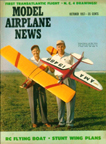 Model Airplane News Cover for October, 1957
