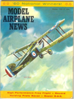 Model Airplane News Cover for October, 1960 by Jo Kotula Sopwith 5F.1 Dolphin