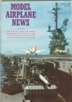 Model Airplane News Cover for October, 1963