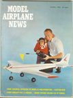 Model Airplane News Cover for October, 1964