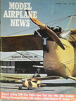 Model Airplane News Cover for October, 1966