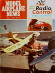 Model Airplane News Cover for October, 1968