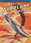 Model Airplane News Cover for September, 1938 by Jo Kotula Polikarpov I-17