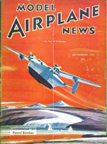 Model Airplane News Cover for September, 1939 by Jo Kotula Consolidated No. 31 XP4Y Corregidor